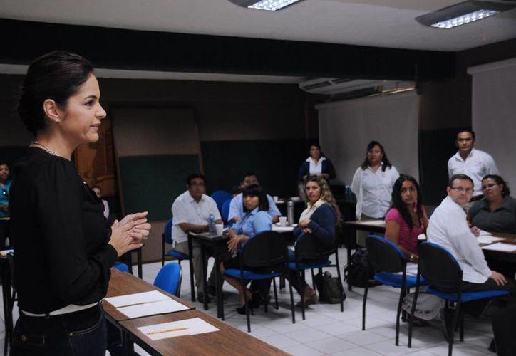 El evento se realizó en la Universidad de Quintana Roo de la isla. (Cortesía/SIPSE)