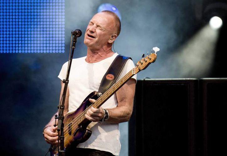 """Sting les dijo a sus dos hijas y cuatro hijos que no esperen en la herencia """"mucho dinero, porque ¡lo estamos gastando!"""". (EFE/Archivo)"""