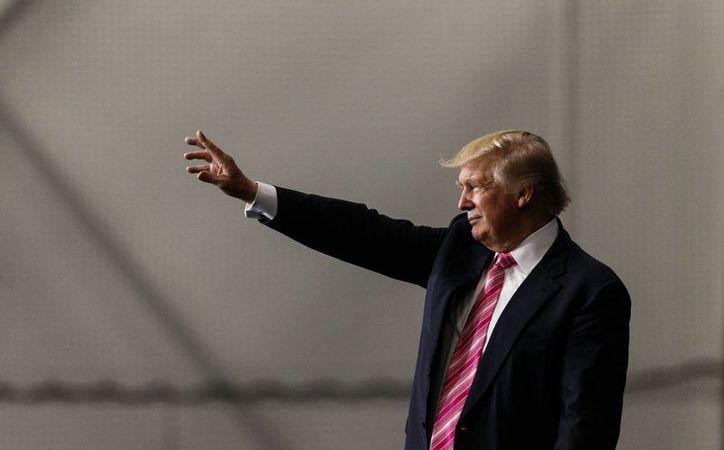 Donald Trump se ha negado hasta ahora a publicar su declaración de impuestos.  (James Robinson/PennLive.com via AP)
