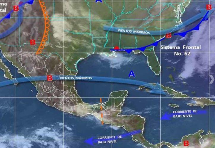 Una circulación de alta presión mantendrá ambiente de caluroso a muy caluroso en gran parte de la República Mexicana. (Conagua)
