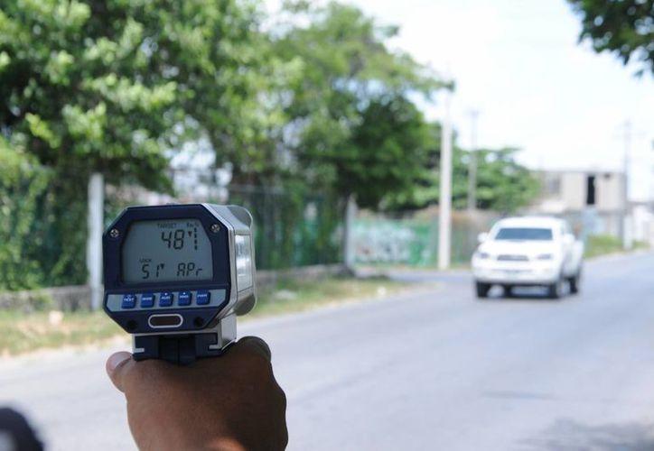 Tratan de disminuir los accidentes de tránsito. (Redacción/SIPSE)