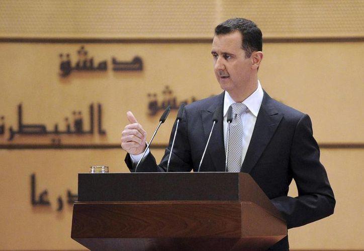 La oposición exige la salida de Al Assad de Siria para entablar diálogo. (Archivo/Reuters)