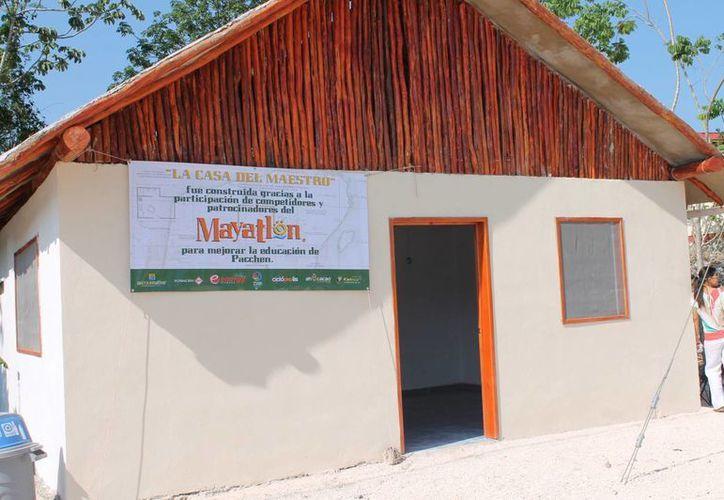 La casa se edificó con ayuda de varios patrocinadores. (Cortesía/SIPSE)