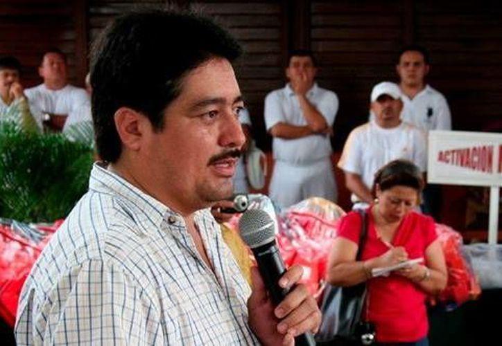 Fernando Romero Ávila, director de Inderm, anunció el primer curso sobre entrega-recepción de los ayuntamientos de Yucatán. (Milenio Novedades)