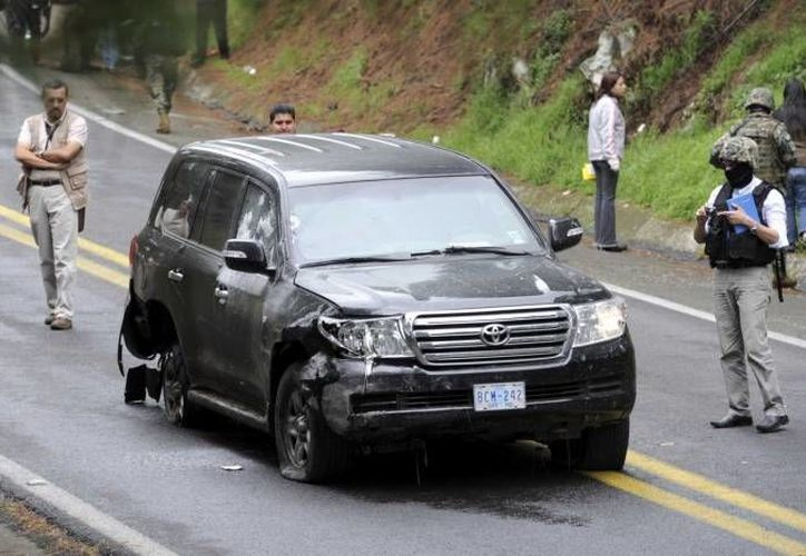 Los 14 policías federales enfrentan un proceso penal por el ataque a tiros a una camioneta de la embajada de Estados Unidos en 2012. (Archivo/Agencias)