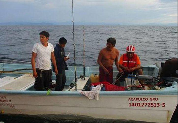Los pescadores se encontraban a bordo de una embarcación de nombre 'Barracuda X'. (Javier Trujillo/Milenio)