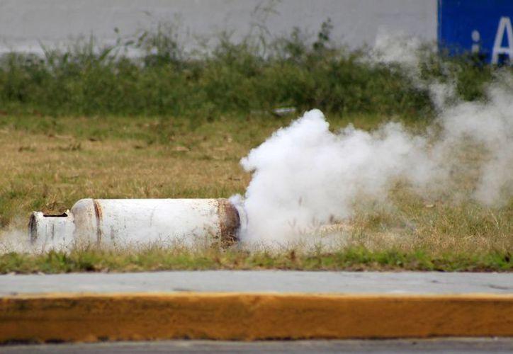 Para evitar accidentes que tengan que ver con la fuga en los cilindros es necesario aumentar los cuidados en su manejo. (Archivo/SIPSE)