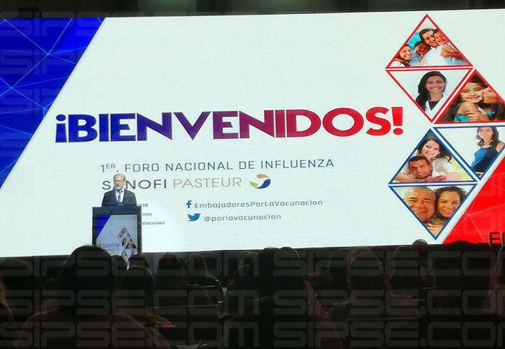 """El 1er. Foro Nacional de Influenza """"Flu Summit 2018"""", en Guadalajara. (José Salazar/ Milenio Novedades)"""