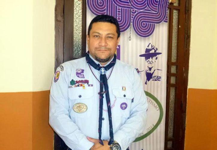 Ricardo Paz señaló que participarán y convivirán 50 grupos scout. (Milenio Novedades)