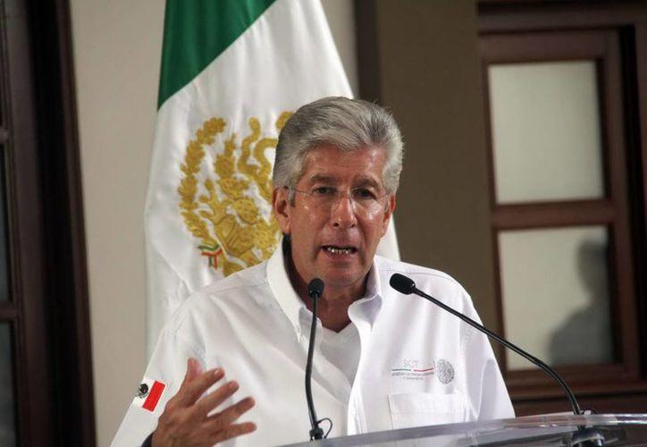 El titular de la Secretaría de Comunicaciones y Transportes (SCT), Gerardo Ruiz Esparza, dio el anuncio por medio de su cuenta de Twitter. (Archivo/Notimex)