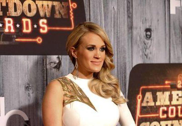 Por fin nació el hijo de Carrie Underwood, engendrado por ella y por el jugador de hockey , Mike Fisher. (Foto de arhivo: AP)