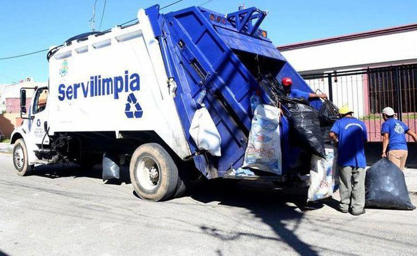 Servilimpia hará una pausa en su servicio dos días, por las celebraciones decembrinas. (Novedades Yucatán)