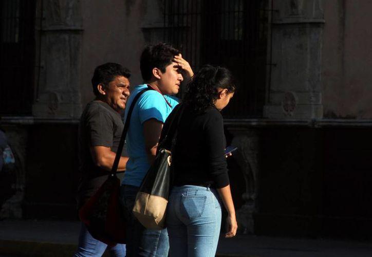 Mérida registra en estos fuerte calor, que podría intensificarse con la llegada de la primavera. (José Acosta/SIPSE)