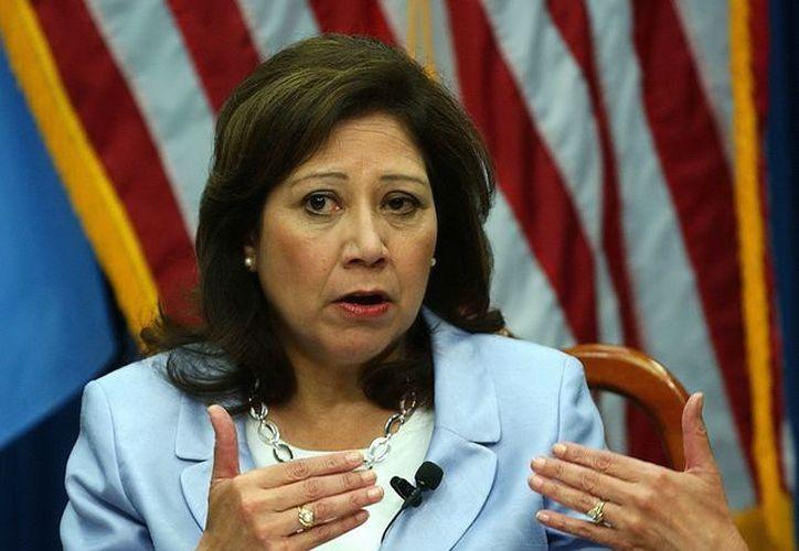 Hilda Solís fue secretaria del Trabajo de EU desde 2009. (EFE)