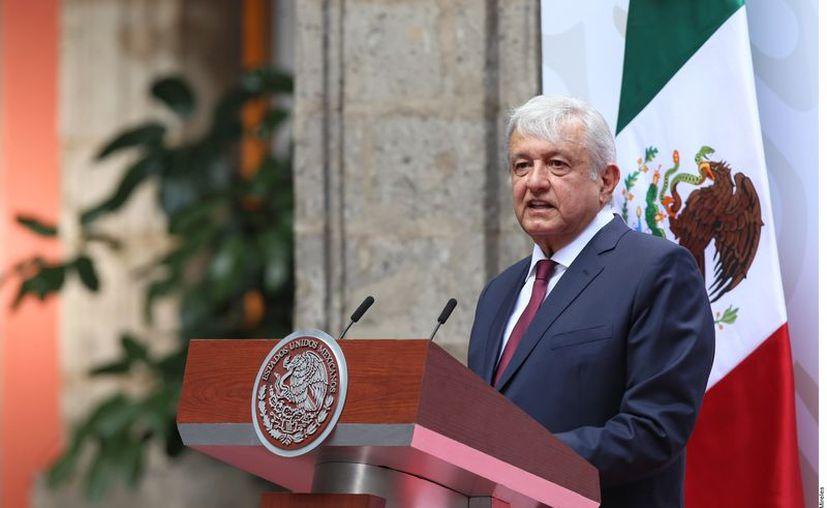 Tras el informe, en el que se esperaba que el Gobierno federal presentará un programa de estímulos a la economía, la Caintra Nuevo León urgió acciones específicas. (Agencia Reforma)