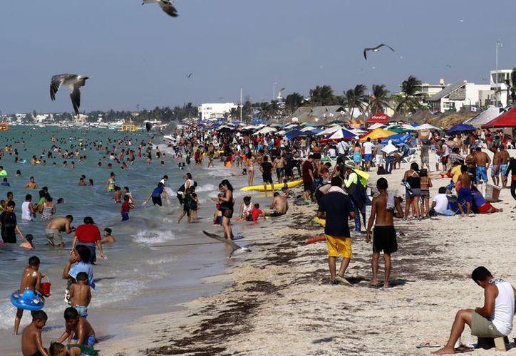 Playas sucias y basura por todas partes es el común denominador en el municipio costero, que recibe a miles de paseantes cada año en estas fechas. (Fotos: José Acosta/Milenio Novedades)