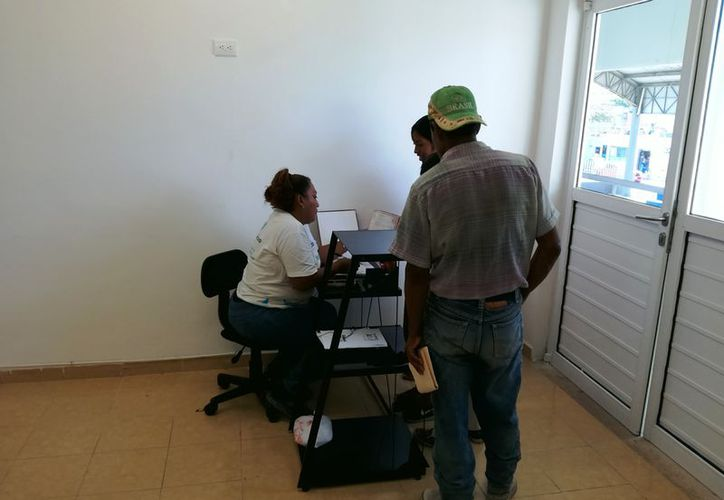 El mes pasado, esta oficina detectó aproximadamente 200 familias extranjeras en Solidaridad.  (Foto: Octavio Martínez)