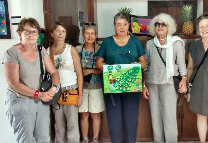 La niña autora de 'El piñal de mi abuela', ocupó el primer lugar en un concurso nacional convocado por la Conafor. (Javier Ortiz/SIPSE)