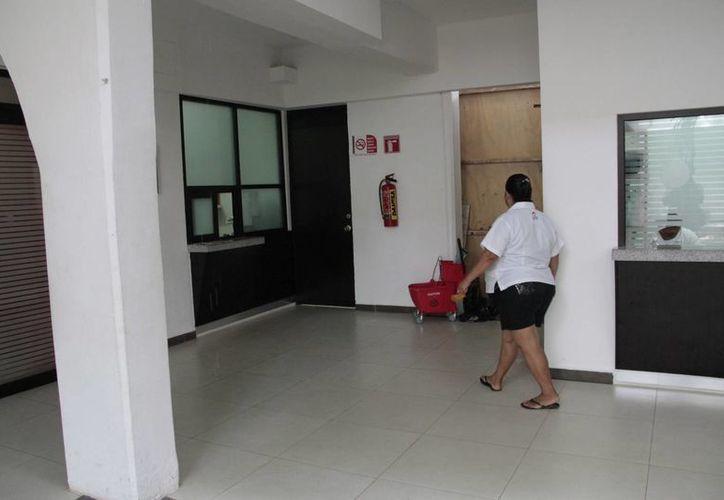 El costo para la instalación del elevador es de un millón de pesos. (Tomás Álvarez/SIPSE)
