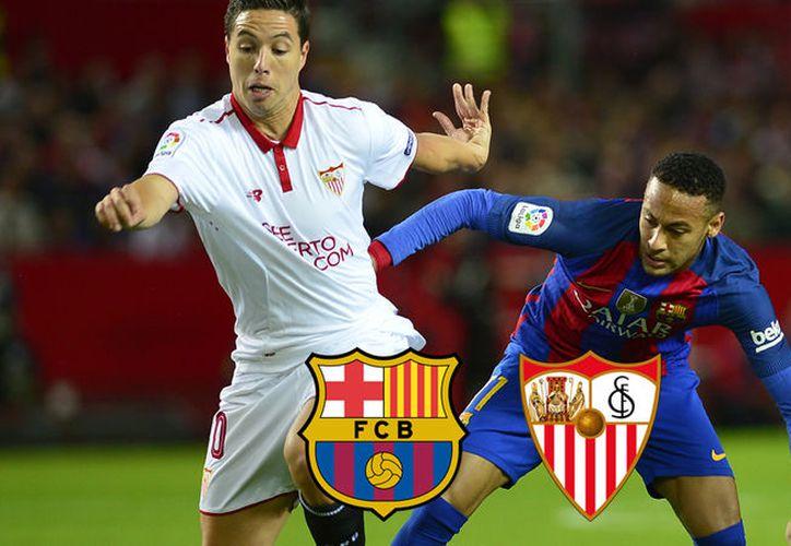 El Barça derrotó al Sevilla. (Foto: Internet)