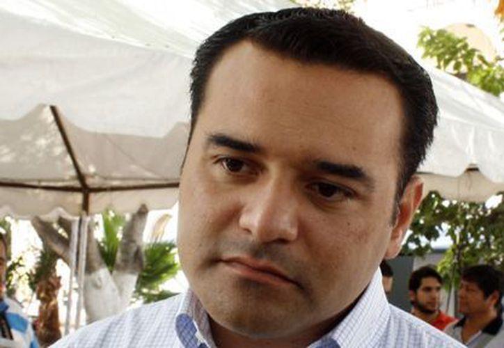 Alcalde Renán Barrera Concha. (Milenio Novedades)