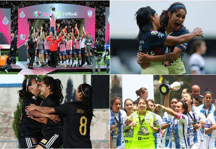 Lo más relevante del Apertura 2017 de la Liga MX Femenil. (Especial/Milenio)