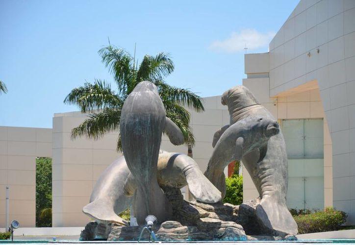 La escultura vendrá a reforzar el programa de las fuentes de la ciudad.  (Gerardo Amaro/SIPSE)