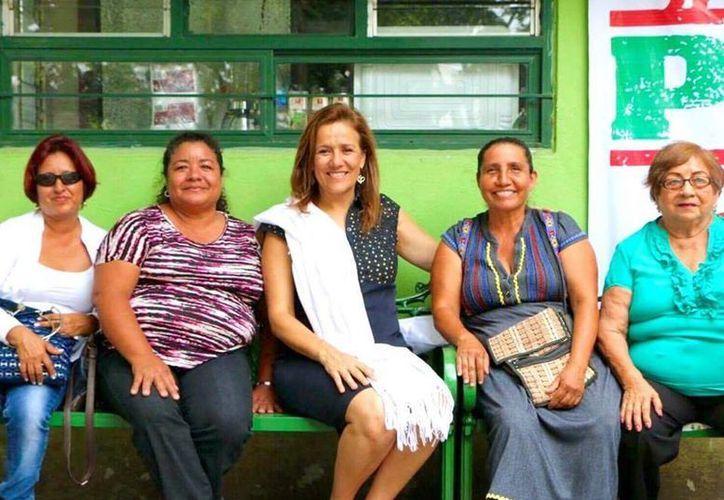 Margarita Zavala afirmó que AMLO no es un peligro para el país. (facebook.com/MargaritaZavalaMX)