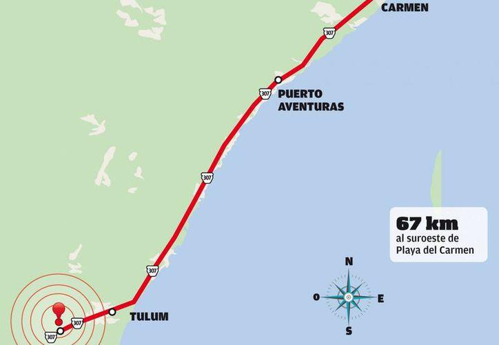 Un sismo de 4.2 grados en la escala de Richter se sintió el 12 de enero en el municipio de Tulum. (Manuel Matos/SIPSE)