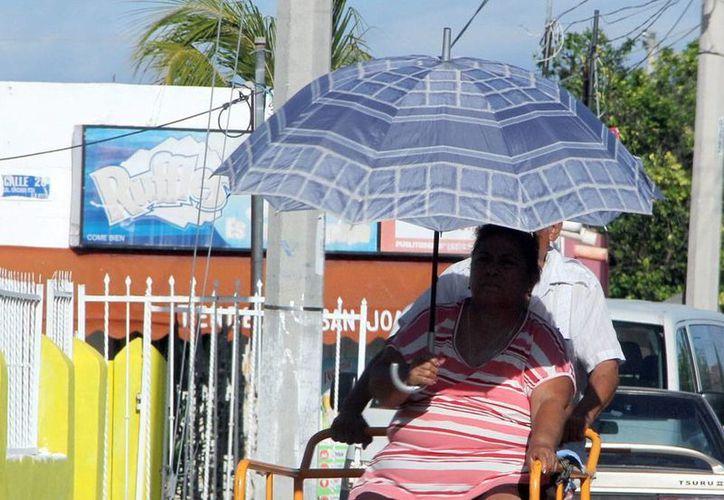 Este domingo se prevé incremento de temperaturas. La máxima puede alcanzar 38 grados, según el pronóstico. (José Acosta/SIPSE)