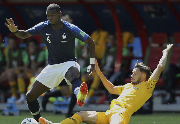 Paul Pogba considera que podría estar jugando su último Mundial, el segundo para él (Foto archivo AP)