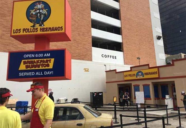 Los Pollos Hermanos abren sus puertas en la ciudad de Austin, Texas.  (Excelsior)