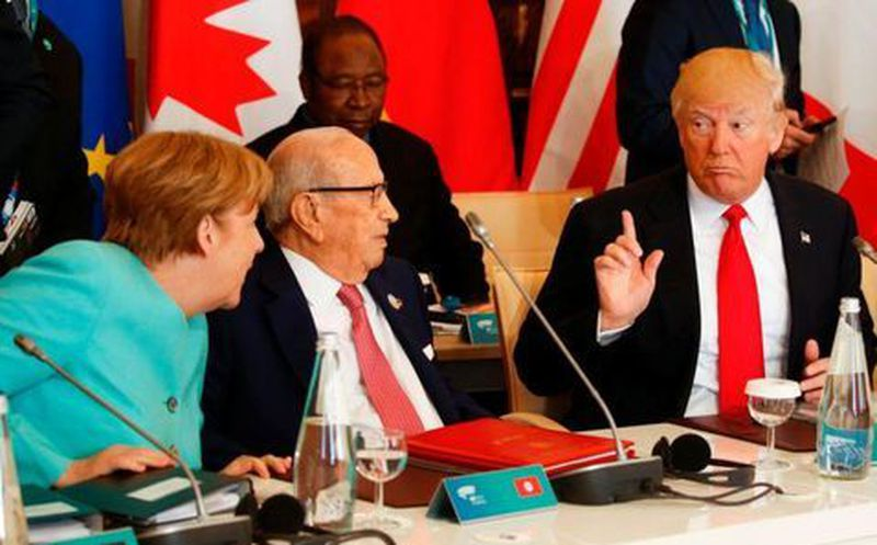 EU notifica a la ONU que se retira del Acuerdo de París