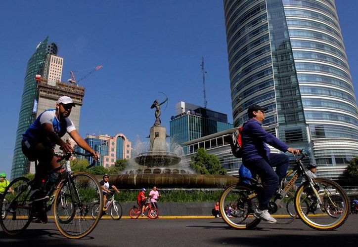 El Paseo de la Reforma es, sin duda, uno de lo mayores atractivos turísticos de la Ciudad de México; la capital se llevó el premio al mejor destino para vacacionar, según una prestigiosa revista turística de EU. (Foto de contexto/Archivo-NTX)