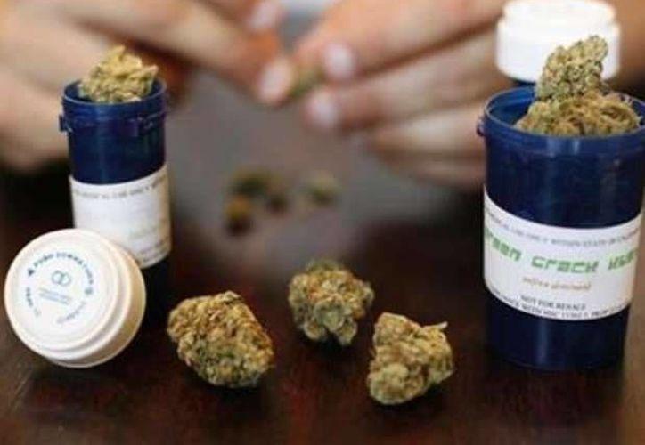 La despenalización de la marihuana en México, es un tema que próximamente será debatido, sin embargo existen otras vertientes que se encuentran en discusión, como el permiso para el uso de medicamentos basados en el cannabis. (AP)