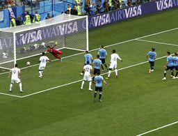 Francia, primer semifinalista a costa de Uruguay: 2-0