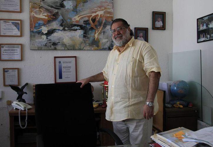 Sergio Eduardo González Rubiera se une a las representaciones consulares. (Tomás Álvarez/SIPSE)