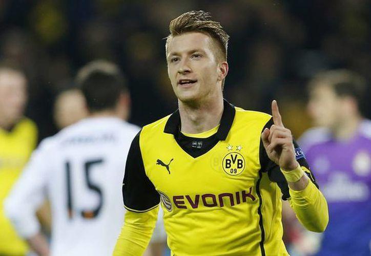 Marco Reus (foto) es la última gran estrella del Borussia Dortmund, tras la salida de Robert Lewandowski. (huffingtonpost.com/Foto de archivo)