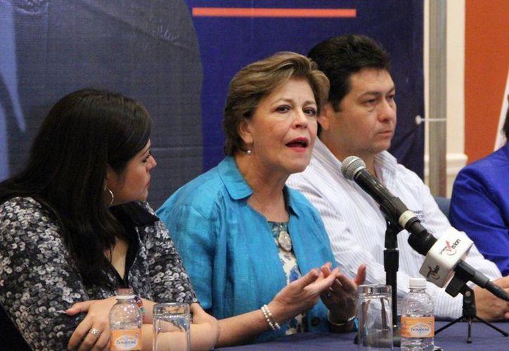 Cecilia Romero Castillo estuvo en Yucatán de gira de trabajo. (José Acosta/SIPSE)