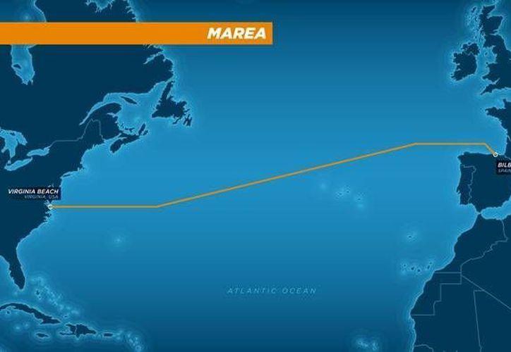 El cable de internet conectará la costa de Virginia, en Estados Unidos, con la ciudad española de Bilbao. (Facebook)