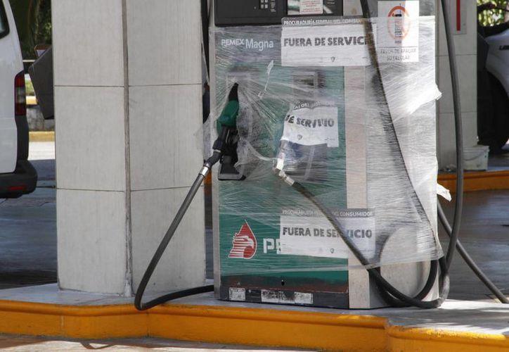 El 77% de las gasolineras inspeccionadas en Quintana Roo no pasaron la evaluación realizada por Profeco. (Tomás Álvarez/SIPSE)