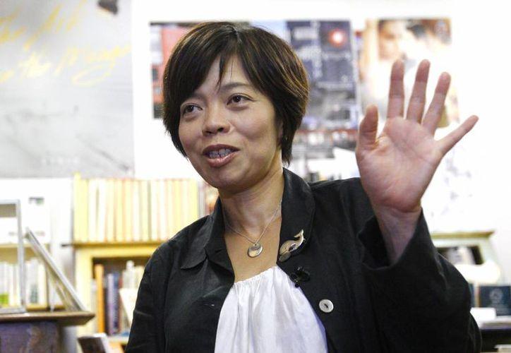 """La directora Keiko Yagi, directora de """"Behind the Cove"""". El filme es presentado como una refutación al documental ganador del Oscar """"The Cove"""" que muestra de manera gráfica la matanza de delfines en el pequeño pueblo de Taiji. (AP)"""
