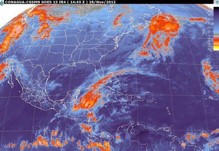 Soplarán vientos del norte y noreste de 30 a 50 km/h con oleje alto de 1 a 2 m de altura en la zona costera. (smn.cna.gob.mx)
