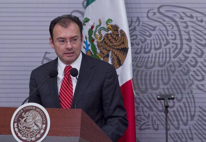 Videgaray: de diciembre de 2012 a mayo la banca de desarrollo ha otorgado más de 289 mil 300 mdp de crédito directo. (Notimex)