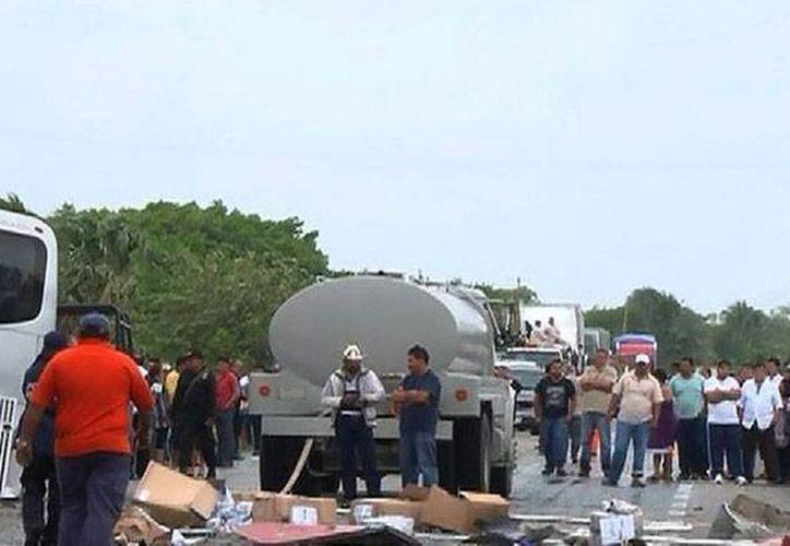 Las autoridades de Campeche descartaron la muerte del chofer del autobús ADO, quien se mantiene en calidad de prófugo. (20minutos.com.mx)