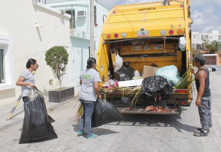 El Plan de Manejo Integral de Residuos Sólidos de Benito Juárez será incluido en el Plan Nacional de Desarrollo Sustentable 2013-2018. (Jesús Tijerina/SIPSE)
