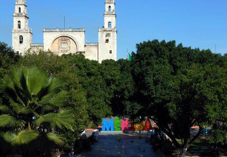 Para este domingo, se espera un día soleado y muy caluroso en Mérida. (Eduardo Vargas/SIPSE)