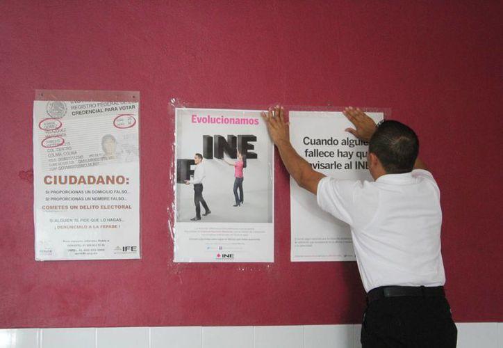El INE busca que los adultos sean responsables de sus decisiones electorales. (Sergio Orozco/SIPSE)