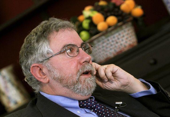"""El Premio Nobel Paul Krugman trató esta """"peculiar excepción"""" como una posibilidad real. (EFE)"""