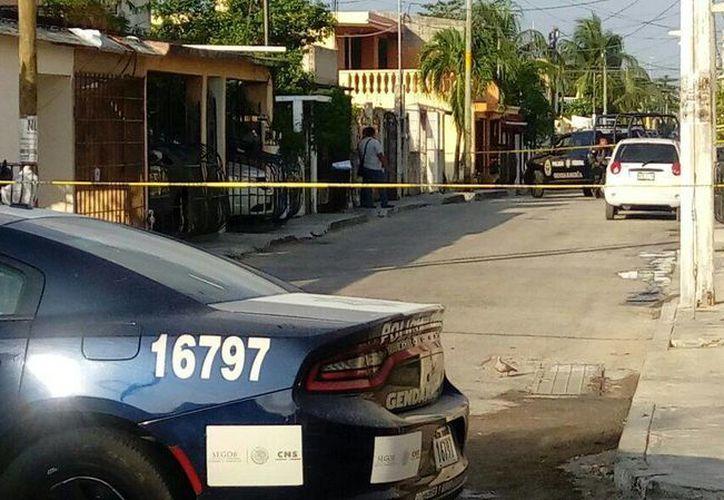 El cuerpo descuartizado fue hallado en la Región 95. (Eric Galindo/SIPSE)